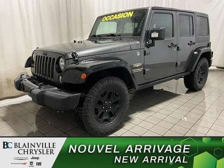2014 Jeep Wrangler Unlimited * BLUETOOTH * CRUISE * A/C * CUIR for Sale  - BC-C1907  - Blainville Chrysler