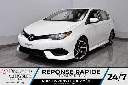 2018 Toyota Corolla iM Cam Rec * Sièges Chauffant AUTOMATIQUE 76$par sem for Sale  - DC-M1442  - Desmeules Chrysler