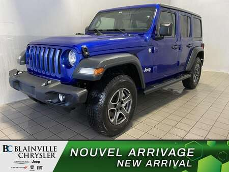 2018 Jeep Wrangler Sport * CAM RECUL * BLUETOOTH * CRUISE * for Sale  - BC-P2124  - Blainville Chrysler