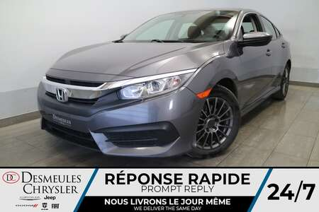 2016 Honda Civic LX MANUELLE * AIR CLIMATISE * CAMERA DE RECUL * for Sale  - DC-21399A  - Blainville Chrysler