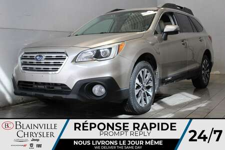 2016 Subaru Outback 3.6R LIMITED * CUIR * GPS * SIEGES CHAUFFANTS * for Sale  - BC-A2399  - Desmeules Chrysler