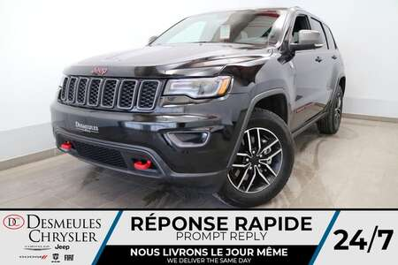 2021 Jeep Grand Cherokee Trailhawk 4X4 * UCONNECT 8.4 PO * NAVIGATION * CAM for Sale  - DC-21391  - Desmeules Chrysler