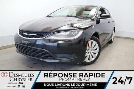 2016 Chrysler 200 LX AUTOMATIQUE * A/C * GROUPE ELECTRIQUE * CRUISE for Sale  - DC-61946  - Desmeules Chrysler