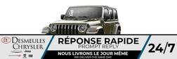 2021 Jeep Wrangler 4xe Unlimited Sahara 4X4 HYBRID * UCONNECT 8.4 PO *  - DC-C858332  - Blainville Chrysler