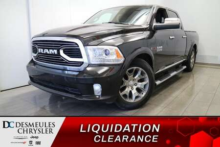 2017 Ram 1500 Crew Cab LONGHORN ECO DIESEL 4X4 * NAV * CAMERA* for Sale  - DC-U2612  - Blainville Chrysler
