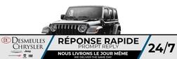 2021 Jeep Wrangler 4xe Unlimited Sahara 4X4 HYBRID * UCONNECT 8.4 PO *  - DC-C857973  - Blainville Chrysler
