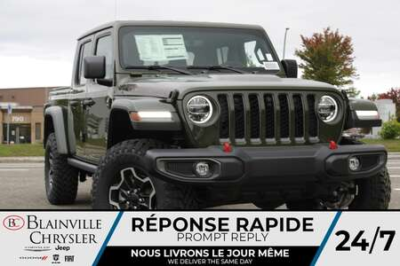 2021 Jeep Gladiator RUBICON * VOLANT + SIEGES CHAUFFANTS * NAVIGATION for Sale  - BC-21726  - Blainville Chrysler