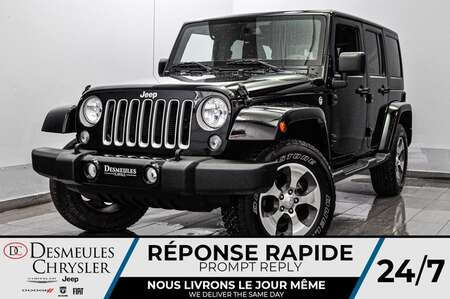 2018 Jeep Wrangler JK UNLIMITED * BLUETOOTH * CRUISE * GPS for Sale  - DC-E2276  - Desmeules Chrysler