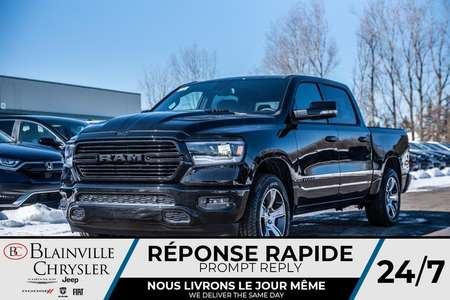 2020 Ram 1500 SPORT * MAGS * 4X4 * BLUETOOTH * CUIR for Sale  - BC-20052  - Desmeules Chrysler