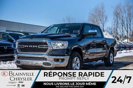 2020 Ram 1500 BIG HORN * MAGS * 4X4 * BLUETOOTH * CAM RECUL for Sale  - BC-20054  - Desmeules Chrysler