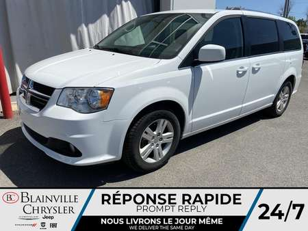2018 Dodge Grand Caravan Crew Plus * NAVIGATION * CAMERA REDUL * BLUETOOTH for Sale  - BC-P1652  - Desmeules Chrysler