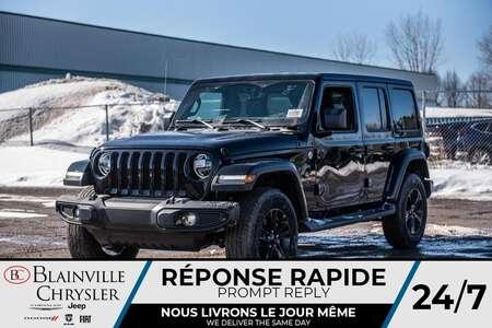 2020 Jeep Wrangler Unlimited Sahara Altitude for Sale  - BC-20081  - Desmeules Chrysler