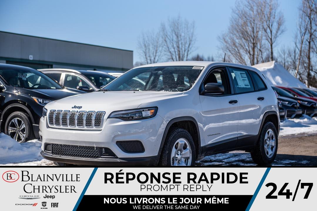 2020 Jeep Cherokee  - Desmeules Chrysler