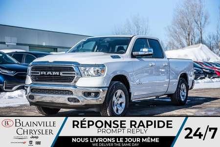 2020 Ram 1500 Big Horn + VITRE ÉLECTRIQUE + A/C + 4X4 + for Sale  - BC-20144  - Desmeules Chrysler