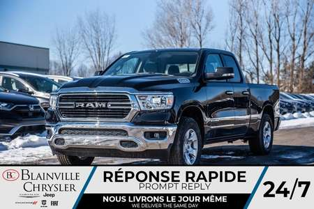 2020 Ram 1500 Big Horn + CONSOLE SPORT + BANCS CHAUFF + for Sale  - BC-20151  - Desmeules Chrysler