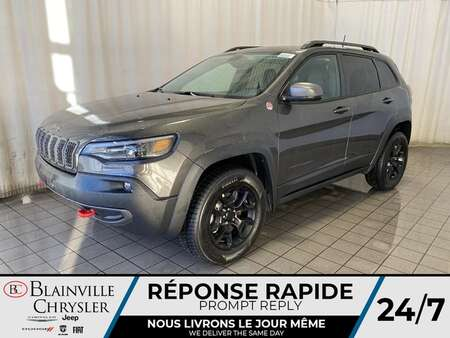2021 Jeep Cherokee Trailhawk * Int. CUIR & TISSU SPORT * for Sale  - BC-21021  - Blainville Chrysler