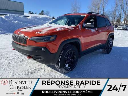 2021 Jeep Cherokee Trailhawk * APPLE CARPLAY * CAM RECUL * TOIT PANO for Sale  - BC-21220  - Desmeules Chrysler