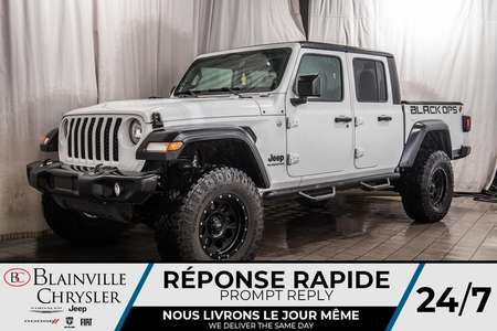 2020 Jeep Gladiator * EDITION BLACK OPS STAGE 2 * * 35 POUCES * for Sale  - BC-20002  - Desmeules Chrysler