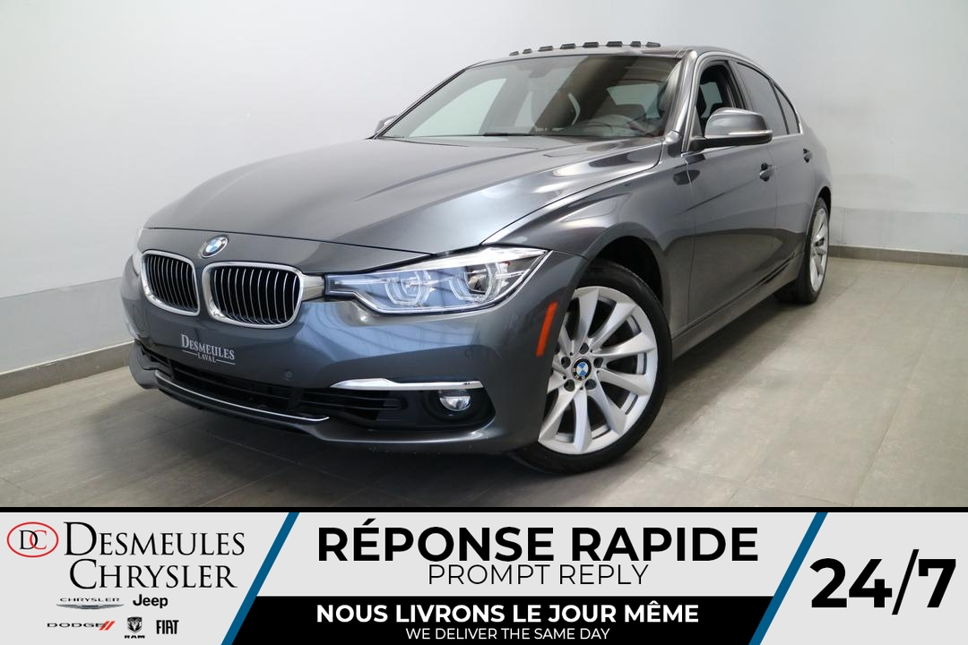 2017 BMW 3 Series  - Blainville Chrysler