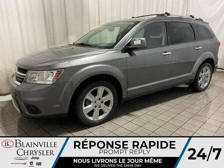 2013 Dodge Journey R/T AWD * 7 PASSAGER * DVD * CAM RECUL * GPS * for Sale  - BC-M1859  - Desmeules Chrysler