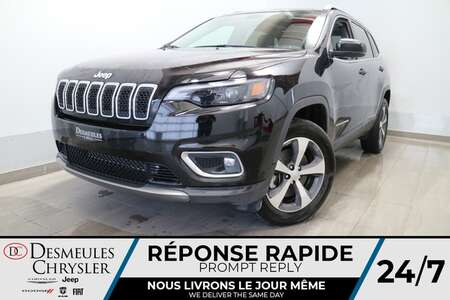 2021 Jeep Cherokee Limited 4X4 * TOIT OUVRANT * CAMERA DE RECUL* CUIR for Sale  - DC-21123  - Desmeules Chrysler