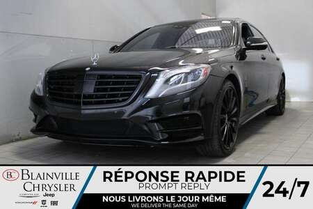 2017 Mercedes-Benz S-Class S 550 * AWD * GPS * BLUETOOTH * ALL BLACK LUXURY * for Sale  - BC-J2151A  - Desmeules Chrysler