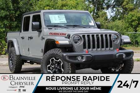 2021 Jeep Gladiator RUBICON * VOLANT + SIEGES CHAUFFANTS * NAVIGATION for Sale  - BC-21756  - Desmeules Chrysler