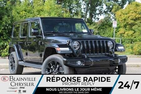 2021 Jeep Wrangler UNLIMITED SAHARA HIGH ALTITUDE * APPLE CARPLAY * for Sale  - BC-21748  - Desmeules Chrysler