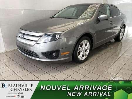 2012 Ford Fusion SE * BLUETOOTH * CRUISE * A/C * AUTOMATIQUE for Sale  - BC-P2026B  - Desmeules Chrysler