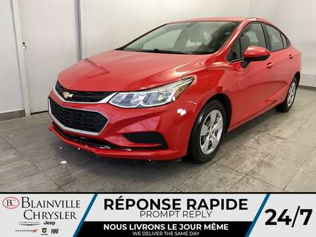 2016 Chevrolet Cruze LS * CAM RECUL * BLUETOOTH * AUTOMATIQUE for Sale  - BC-S1764  - Blainville Chrysler