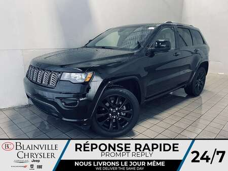 2019 Jeep Grand Cherokee ALTITUDE * ALL BLACK * CUIR * APPLE CAR PLAY * WOW for Sale  - BC-21563A  - Desmeules Chrysler