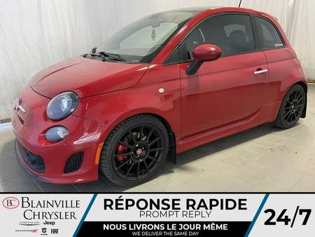 2013 Fiat 500 TURBO * SIEGES ABARTH * 150HP * BLUETOOTH * A/C for Sale  - BC-ARN23  - Desmeules Chrysler