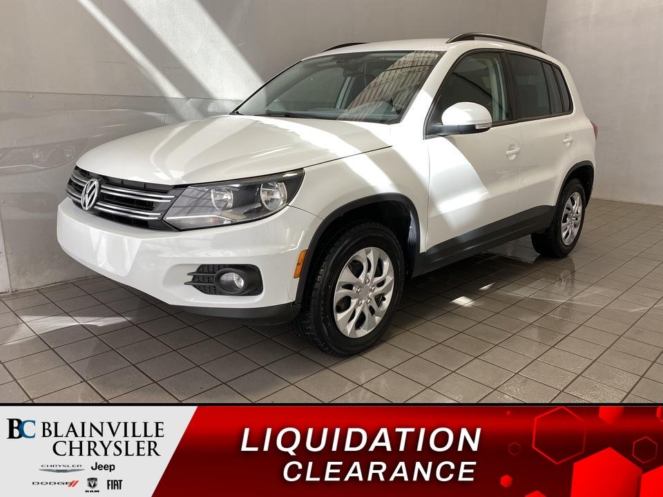 2016 Volkswagen Tiguan  - Blainville Chrysler