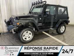 2014 Jeep Wrangler 4WD * CRUISE * MANUEL * TOIT SOUPLE  - BC-21162A  - Blainville Chrysler