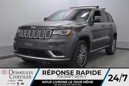 2017 Jeep Grand Cherokee Summit * CAM RECUL * SIEGES CHAUFFANTS ET VENTILES for Sale  - DC-U2320  - Desmeules Chrysler