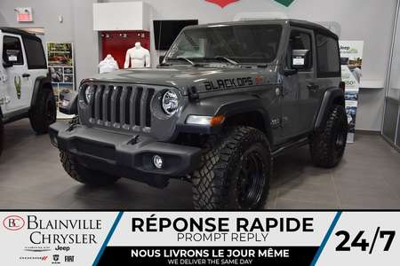 2020 Jeep Wrangler Sport ***BLACK OPS EDITION*** for Sale  - BC-20108  - Desmeules Chrysler