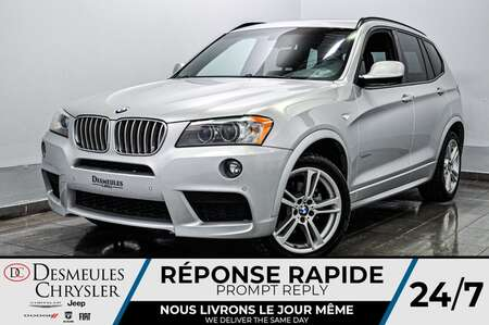 2014 BMW X3 xDrive35i AWD * CAM RECUL * SIEGES CHAUFFANTS for Sale  - DC-S2291  - Blainville Chrysler
