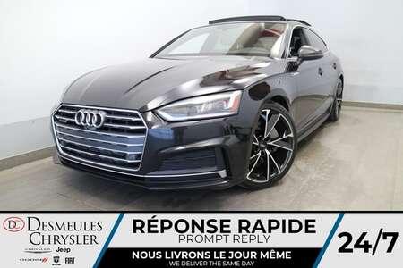 2018 Audi A5 Sportback Prestige 2.0L AWD * NAVIGATION * TOIT OUVRANT * for Sale  - DC-LUDO021  - Desmeules Chrysler