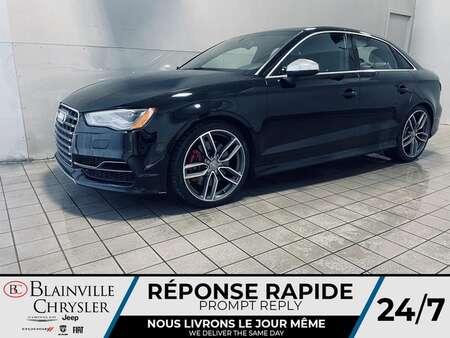 2015 Audi S3 2.0T * CRUISE * TOIT * GPS * CAMERA DE RECUL * for Sale  - BC-21272A  - Desmeules Chrysler