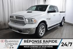 2017 Ram 1500 LARAMIE * CREWCAB * CACHE-CAISSE * GPS * BOITE 6.4  - BC-P1619  - Desmeules Chrysler