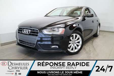 2014 Audi A-4 Komfort AWD * TOIT OUVRANT * CUIR BEIGE * CRUISE * for Sale  - DC-S2806  - Blainville Chrysler