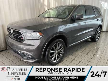 2017 Dodge Durango GT * NAVIGATION * CAM RECUL * CUIR * 4X4 * for Sale  - BC-P1782  - Blainville Chrysler