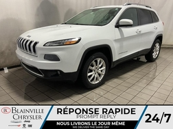 2014 Jeep Cherokee Limited 4WD * TOIT PANO * CAM RECUL * GPS *  - BC-21142A  - Blainville Chrysler