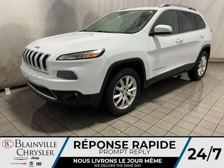 2014 Jeep Cherokee Limited 4WD * TOIT PANO * CAM RECUL * GPS * for Sale  - BC-21142A  - Desmeules Chrysler