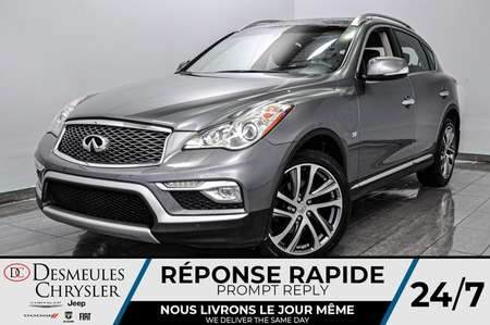 2017 Infiniti QX50 + a/c + bancs chauff + toit ouv + bluetooth + cam for Sale  - DC-L2107  - Blainville Chrysler
