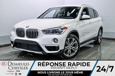 2017 BMW X1 xDrive28i * ECO/SPORT * SIEGES CHAUFFANTS * CRUISE for Sale  - DC-S2386  - Desmeules Chrysler