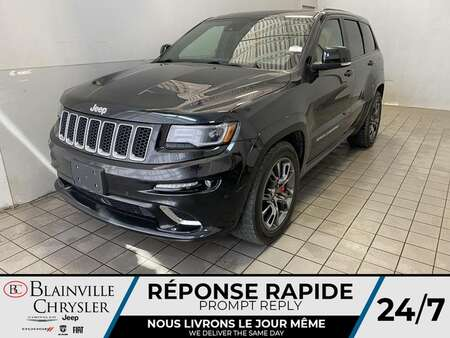 2016 Jeep Grand Cherokee SRT 4WD * TRACK MODE * LAUNCH CONTROL * for Sale  - BC-21391A  - Blainville Chrysler
