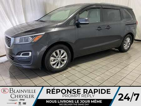 2019 Kia Sedona LX * APPLE CARPLAY * BLUETOOTH * CAM RECUL * for Sale  - BC-20400A  - Desmeules Chrysler
