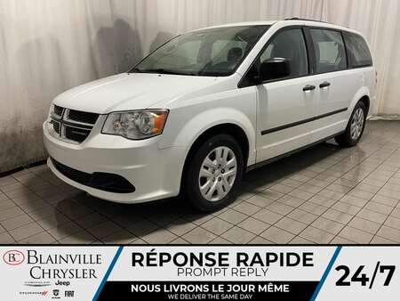 2017 Dodge Grand Caravan SE * CRUISE * A/C * ECO MODE for Sale  - BC-P1867B  - Blainville Chrysler
