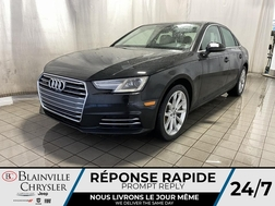 2017 Audi A-4 Progressiv * CAMERA 360 * SIEGES CHAUFFANTS *  - BC-M1947b  - Blainville Chrysler